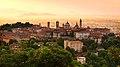 Sunrise at Bergamo old town, Lombardy, Italy.jpg