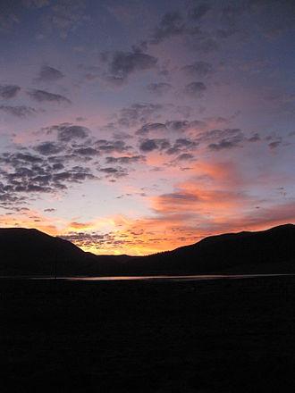 Eagle Nest Lake State Park - Image: Sunrise at Eagle Nest Lake