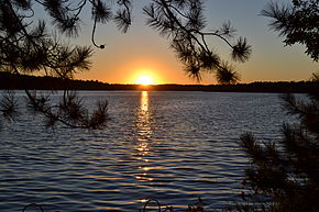 Sunset - Lake Nebagamon, Wisconsin.JPG