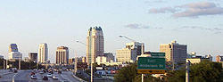 Skyline of Orlando, Florida