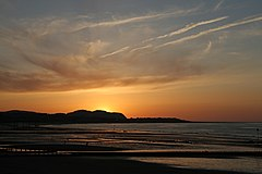 Sunset over Colwyn Bay.jpg