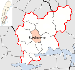 Surahammar Municipality in Västmanland County.png