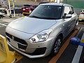 Suzuki SWIFT XG LIMITED (DBA-ZC83S-VBGE-L) front.jpg