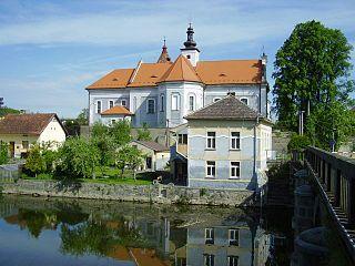 Mirovice Town in South Bohemian, Czech Republic