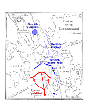 Battle of Svensksund - Second battle of Svensksund