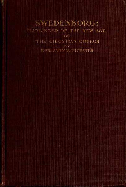 File:Swedenborg, Harbinger of the New Age of the Christian Church.djvu