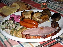 Smörgåsbord - Wikipedia, the free encyclopedia