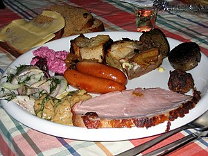 smörgåsbord, Swedish buffet