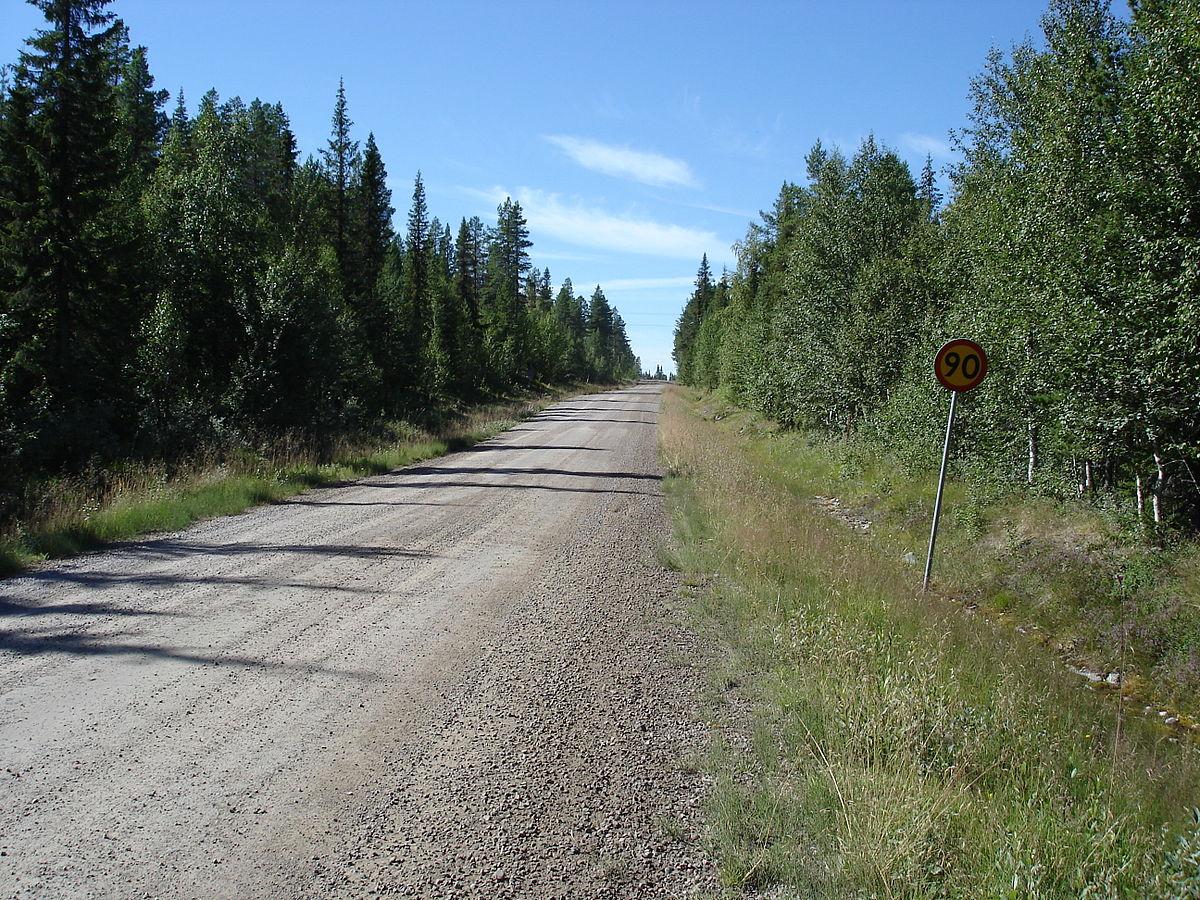 Гравийная дорога — Википедия