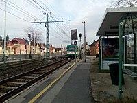 Szent István utca station 01.jpg