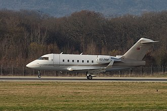 2018 Iran Bombardier Challenger crash - Challenger 604 registration TC-TRB, the aircraft involved in the accident, in 2016