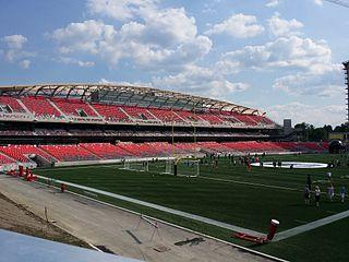 TD Place Stadium stadium in Ottawa, Ontario, Canada