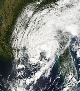 Tropical Depression Ten (2007) Atlantic tropical depression in 2007