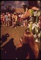 TOURISTS AT A HULA DANCE DEMONSTRATION - NARA - 553758.tif