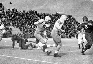 1941 Texas Tech Red Raiders football team - 1941 Texas Tech football team in action against Miami (Florida)