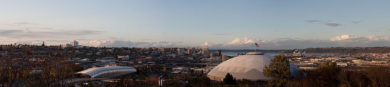 Panorama of Tacoma, WA