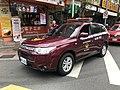 Taipei City Fire Department Mitsubishi Outlander Command Vehicle ARG-1676.jpg