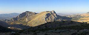 Baetic System - Tajos del Sabar, near Alfarnate