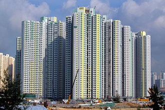 Public housing estates in the Kai Tak development area - Tak Long Estate