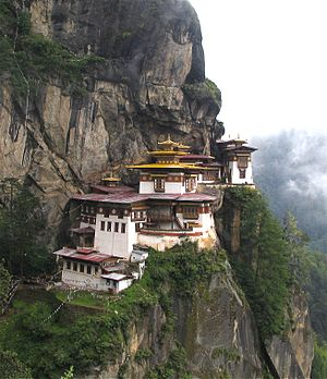 Taktshang Monastery, Bhutan by Greenmnm69 (Douglas J. McLaughlin)