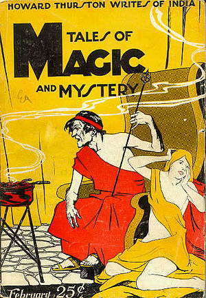 Tales of Magic and Mystery (magazine) - Cover of the February 1928 issue