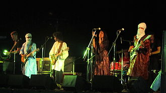 Tamikrest - Image: Tamikrest in concert Italy 2010