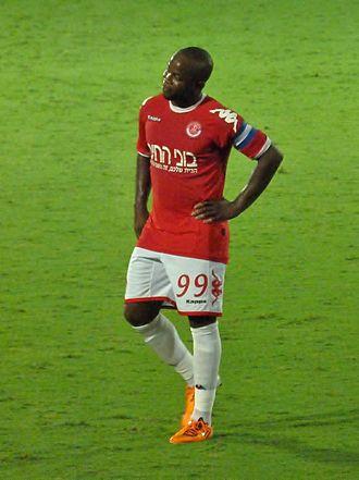 Toto Tamuz - Tamuz playing for Hapoel Tel Aviv in 2011