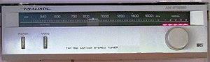 Medium wave - Realistic TM-152 AM stereo tuner c. 1988