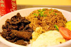 Tapa (Filipino cuisine) - Tapsilog to go