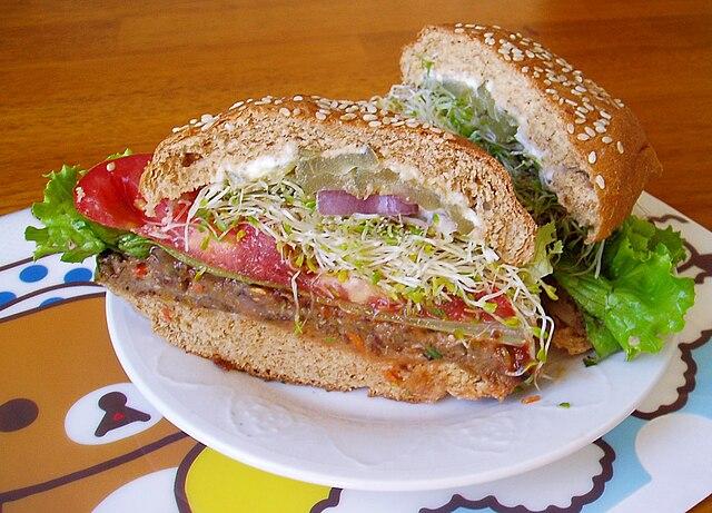 Taro Burger - Hawaii