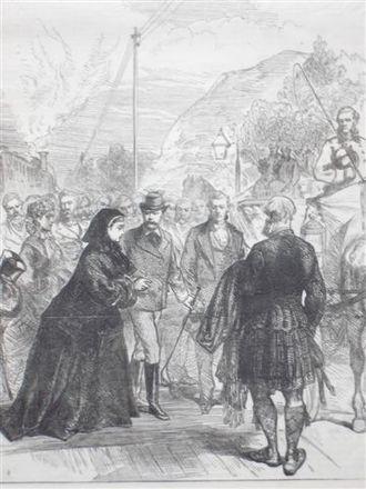Festival Te Deum - Victoria visits Edward during his illness.