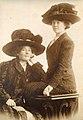 Tekla Bonander & Anna Granberg c 1910.jpg
