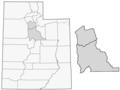 Temple Map of Utah Shaded.png