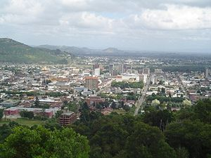 View of Temuco from Cerro Ñielol