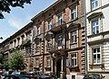 Tenement houses, 1885 designed by Sławomir Odrzywolski, 19 and 21 Studencka street, Piasek, Krakow, Poland.jpg