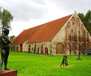 Ter Doest Abbey - Tithe barn