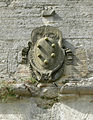 Terra del sole, porta romana, stemma medici.JPG