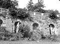 Terrasse et grotte de rocaille - Partie centrale de la terrasse, Niches abritant des statues - Juvisy-sur-Orge - Médiathèque de l'architecture et du patrimoine - APMH00023498.jpg