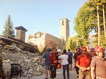 Chiesa Di Sant Agostino Amatrice Wikipedia