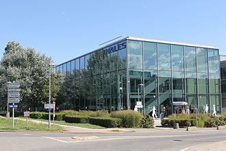 Thales Group - The research centre of Thales in the business cluster of Paris-Saclay, France.