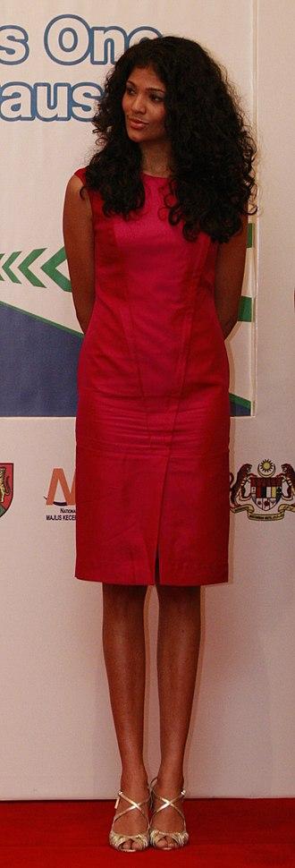Thanuja Ananthan - Thanuja Ananthan at the 2010 Kuala Lumpur Marathon
