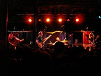 The Sword 2006ko otsailaren 25ean Slim's-en (San Francisco)