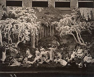 The Arcadians (musical) -  Scene from The Arcadians, 1909