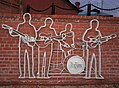The Beatles mural in Yekaterinburg, Sverdlovskaya Oblast, RU.jpg