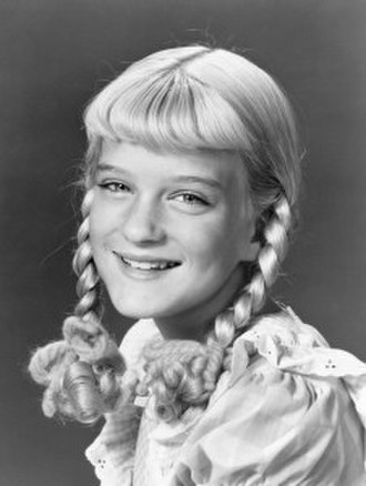 Susan Olsen - Olsen as Cindy Brady, the youngest of The Brady Bunch