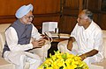 The Chief Minister of Karnataka, Mr. B.S.Yeddyurappa, calling on the Prime Minister, Dr. Manmohan Singh in New Delhi on November 16, 2007.jpg