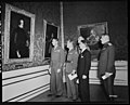 """The Diego Velazquez Painting """"Philip IV King of Spain"""" Being Examined by General Mark W. Clark and Others - NARA - 5757192.jpg"""