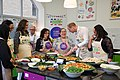 The Duke and Duchess Cambridge at Commonwealth Big Lunch on 22 March 2018 - 127.jpg