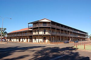 Port Hedland, Western Australia - Esplanade Hotel, Port Hedland, April 2012.