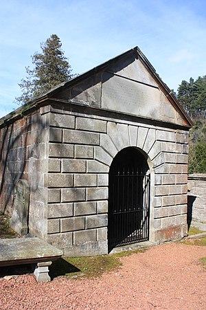 James Gillespie (philanthropist) - Image: The Gillespie vault, Colinton churchyard